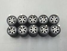 Hot wheels rubber tires real riders 6 spoke 6sp chrome 5 sets medium axle 10mm