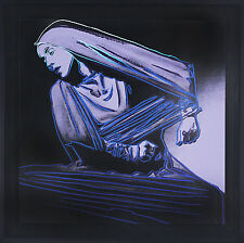 Andy Warhol Lamentation #388 from the Martha Graham Series 1986 – Signed Screen