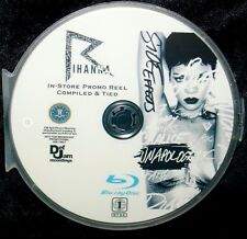 RIHANNA In-Store 42 Music Video Promo Reel Tied BLU-RAY DVD with FREE SHIPPING
