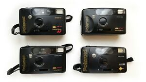 Lomography LOT: Polaroid 2000FF 35mm, Polaroid AF Autofocus Dateback, 4 pcs