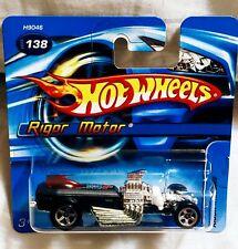 HOT WHEELS 2006 RIGOR MOTOR 📸RARE SHORT CARD 🚩#138