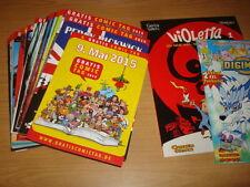 34 Comics + alle 34 Gratis Comic Hefte vom Gratis Comic Tag 2015