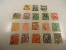 Lot of 18 Vintage Brazilian Antique Stamps Used with Hinge Remnants - Make Offer