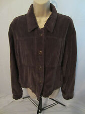 The Territory Ahead Button Front Jacket w/Pockets - Purple - Women's Medium