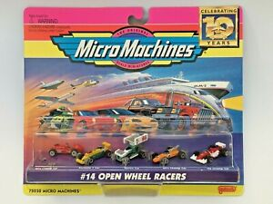 MICRO MACHINES 1997 #14 OPEN WHEEL RACERS FORMULA 1 SPRINT CHAMP CAR NEW
