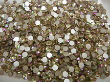 360 swarovski xilion rose flatbacks,20ss crystal luminous green / Foiled #2028