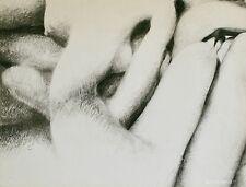 Loic DUBIGEON - Dessin original - Nus enlacés