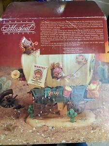 1992 ENESCO WAGGIN TAILS DELUXE ACTION MUSICAL SOCIETY TOY HOLIDAY CHRISTMAS