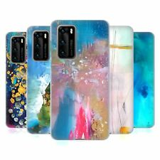 OFFICIAL MAI AUTUMN ABSTRACT GEL CASE FOR HUAWEI PHONES