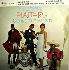 """THE FLYING  PLATTERS AROUND THE WORLD 7"""" EP FOR THE FIRST TIME ( COME PRIMA) + 3"""