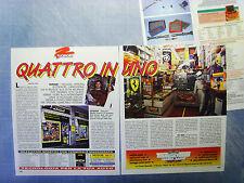 AUTO996-RITAGLIO/CLIPPING/NEWS-1996-OVRAM OTTOLINI VENDITA RICAMBI AUTO- 3 fogli