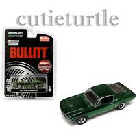Greenlight Bullitt 50 Year Anniv. 1968 Ford Mustang GT 1:64 Green Chrome 51226