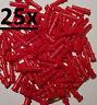 25x Lego Technic Achs Pin Verbinder lang 3L Muffe rot 32054 Technik 4211865