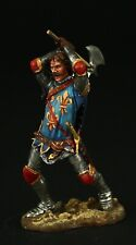 Tin soldier, Collectible, Fighting Knight, Crecy, 1346, 54 mm, Medieval