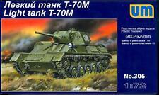 UM-MT Models 1/72 Soviet T-70M LIGHT TANK