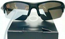 NEW* Oakley FLAK 2.0 Matte Black POLARIZED Galaxy Chrome Mirror Sunglass 9188
