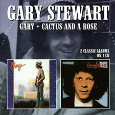 Gary Stewart - Gary/Cactus And A Rose (NEW CD)