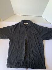 Tommy Bahama Button Down Silk Hawaiian Shirt Short Sleeve Small