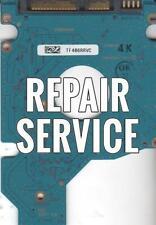 Repair For  MK3252GSX, HDD2H01 F VL01 T, G002217A, Toshiba 320GB SATA 2.5 PCB