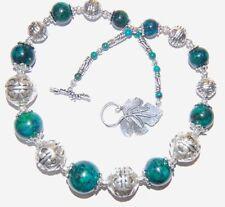 Jasper Gemstone Chain Costume Necklaces & Pendants