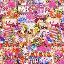 100% Cotton Poplin Fabrics Print Poplin Decor Clothing Patchwork 2383/001