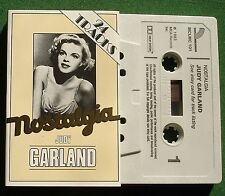 Judy Garland Nostalgia inc Over the Rainbow Swanee + Cassette Tape - TESTED