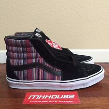 New Vans Sk8-Hi Guate Weave Skateboard Skate Shoes Native Print era Size 10.5