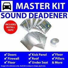 Heat & Sound Deadener Dodge Charger 1966 - 1967 Master Kit + Seam Tape 41262Cm2
