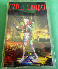Cyndi Lauper A Night to remember Cassette Made in Australia 462499 4