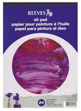 Reeves Artistas Pintura al Óleo Cojín de papel - 190gsm - 15 Hojas-A4