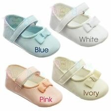 Unbranded Girls' Baby Shoes with Hook & Loop Fasteners