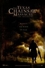 TEXAS CHAINSAW MASSACRE THE BEGINNING MOVIE POSTER 2 Sided ORIGINAL 27x40