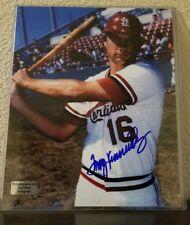 Terry Kennedy Autograph Photo 8X10 RSA Certification  St. Louis Cardinals