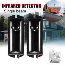 2X15m Infrared Beam Detector Sensor Alarm Counter Perimeter Protection Security