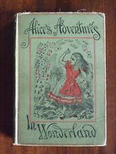Alice's Adventures in Wonderland. Lewis Carroll. 42 Illust. by John Tenniel 1910