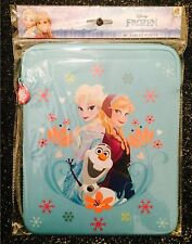 "Disney Frozen iPad tablette 10"" Zip Wallet Case Sac Housse Manche"