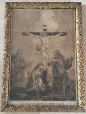 """Gravure Religieux """"In Manus Tuas Commendo Spiritum Meo"""" D'ap Calliano cadre+++"""