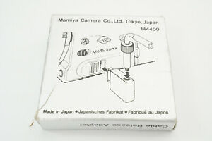 [N.Mint in box] Mamiya Cable Release Adapter for M645 super From Japan #238