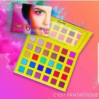 Rude C'est Fantastique 30 Eyeshadow Palette Highly Pigmented Sombra de Ojos