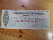 Collectible Bank Checks & Drafts for sale | eBay