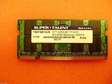 DDR2-667 SODIMM 1GB Samsung Chip Notebook Memory