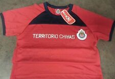 Mexico Chivas Guadalajara Official T-Shirt Jersey Socer Futbol Size S