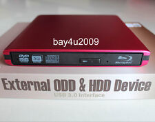 USB 3.0 External Sony Optiarc BD-5730S BD5740H 3D Blu-Ray Burner BD-RE DVD Drive