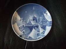Weihnachtsteller - Porzellan - CHRISTMAS 1971 - Royale - limitiert - 19,5 cm