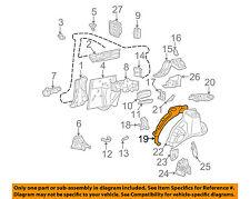 TOYOTA OEM 99-03 Solara Quarter Panel-Outer Wheel well Right 6163106020