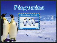 Mali 2018 CTO Penguins Emperor Penguin 1v M/S Pingouins Birds Stamps