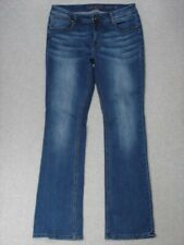 SD13429 **GRACE IN LA** EASY FIT BOOT CUT WOMENS JEANS sz31 DARK BLUE