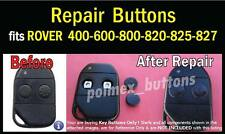 fits Rover VITESSE STERLING remote key FOB - 2 SETS of Silicone BUTTONS