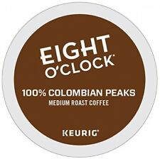 Eight O'clock Coffee 100% Colombian Keurig Single-Serve K-Cup Pods, Medium Roast
