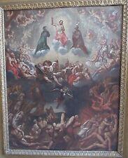 """Juan Valdes De Leal: """"Il Giudizio Universale"""" – olio su tela – cm. 54 x 66,5"""